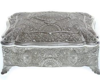 boite bijoux carre oriental