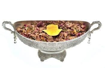 Vasque coupelle décoration henné