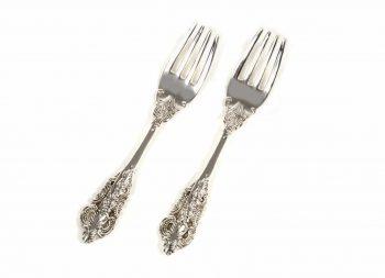 fourchette argenté set pièce montée