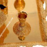 chandelier doré ambiance