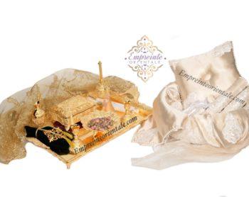 pack platinium henné ceremonie du henne corbeille plateau henna