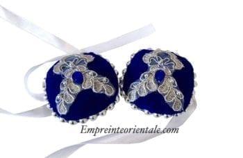 rosace coton henné mariage