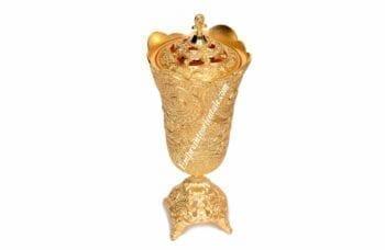 Grand encensoir doré