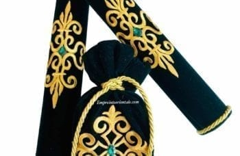 pack porte bougie bourse henna vert mariage arabe