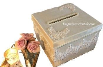 Velvet box urne mariage cérémonie