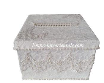 Urne mariage velvet box urne