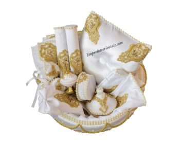 Coffret blanc doré royal