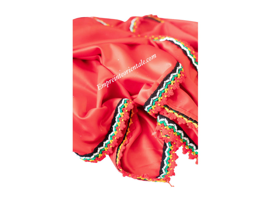 Nappe Kabyle rouge